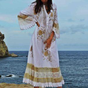 ibiza woman fashion 2018 pois
